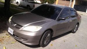 Honda Civic 2005 – motor 1.7, automático, servicios al día
