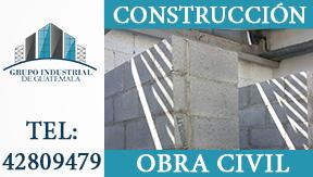 CONSTRUCCIONES EN GENERAL- OBRA CIVIL EN GUATEMALA