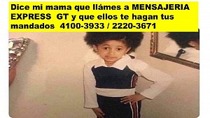 MANDADOS Y MENSAJERIA EXPRESS GT PARA SERVIRTE