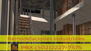 Remodelaciones Industriales | Servicios de Guatemala