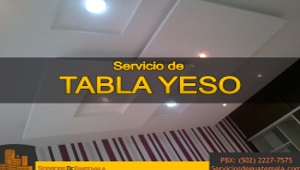 Servicio de Tabla Yeso   Servicios de Guatemala