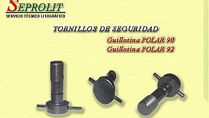 TORNILLOS DE SEGURIDAD