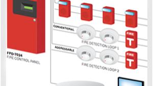 Alarma Detección de Incendio con Humodetectores Cableado