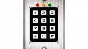Acceso a puerta con código