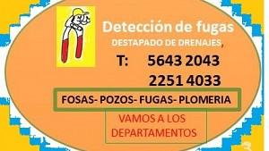 DETECCION DE FUGAS DE AGUA