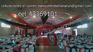 Banquetes para bodas guatemala   economicos eventos jardines