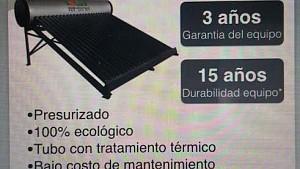 Calentador Solar de 240 litros