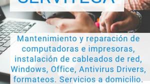 Mantenimiento y reparación de computadoras