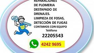PLOMERO- REPARACIONES DE PLOMERIA
