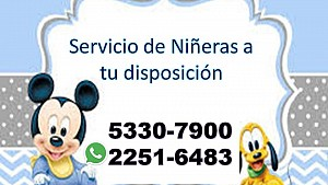 Agencia de Niñeras Guatemala, Contactenos al 5330-7900