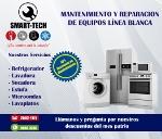 SMART-TECH / REPARACION DE EQUIPOS DE LINEA BLANCA / CENTRO