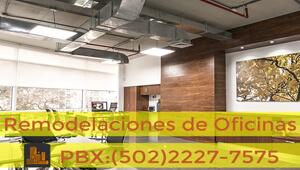 Remodelaciones de Oficinas | Servicios de Guatemala