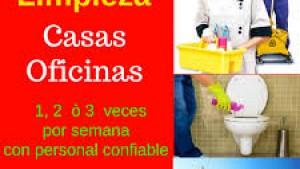 SERVICIOS DE LIMPIEZA POR DÍA EN OFICINAS
