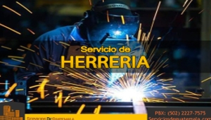 Servicio de Herrería | Servicios de Guatemala
