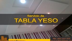 Servicio de Tabla Yeso | Servicios de Guatemala