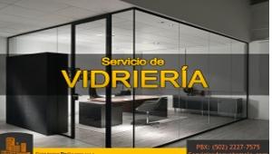 Servicio de Vidriaría | Servicios de Guatemala