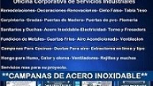 CAMPANAS DE ACERO INOXIDABLE