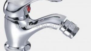 Single lever brass bidet faucet