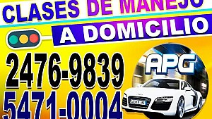 CLASES DE MANEJO A DOMICILIO