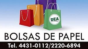 bolsas de papel DEA es tu estilo