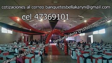 banquetes guatemala alquifiestas  toldos alfombra roja  en