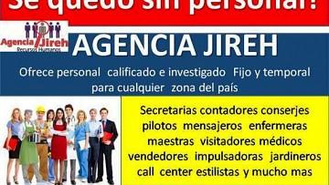 Se quedo sin personal? servicio garantizado JIreh en Guatemala Guatemala