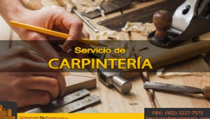 Servicio de Carpintería | Servicios de Guatemala   en Guatemala Guatemala