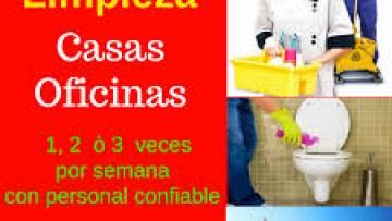 LIMPIEZA DE APARTAMENTOS Y OFICINAS en Guatemala Guatemala