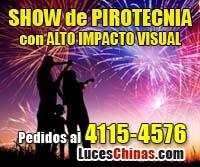 Show de Pirotecnia en Villa Nueva Villa Nueva