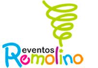 Logo Eventos remolino  -payasos de Guatemala