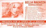 Logo Estetica Bella Ragazza  Ciudad San Cristobal zona 8 Mixco